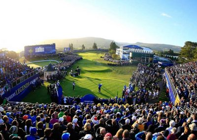 Ryder Cup 2014 first tee