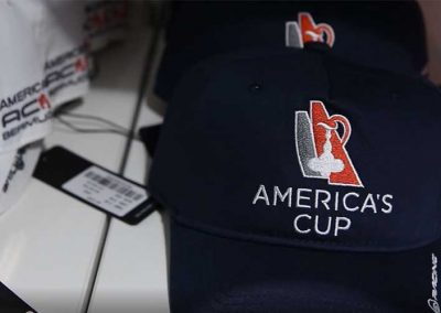 America's Cup Bermuda baseball caps