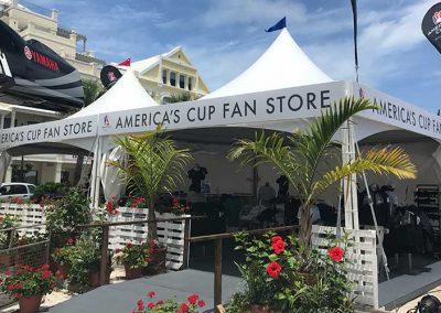 America's Cup Bermuda pop-up store