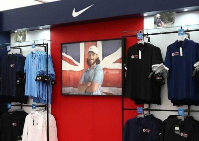European Tour British Masters shop internal