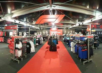 Formula 1 superstore fit-out