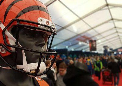 NFL London Games helmet