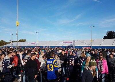 NFL London official store and fans