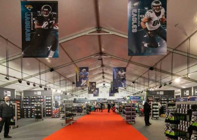 NFL London Games official store fit-out