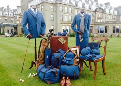 Ryder Cup Official Harris Tweed photo shoot