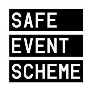 safe event scheme logo