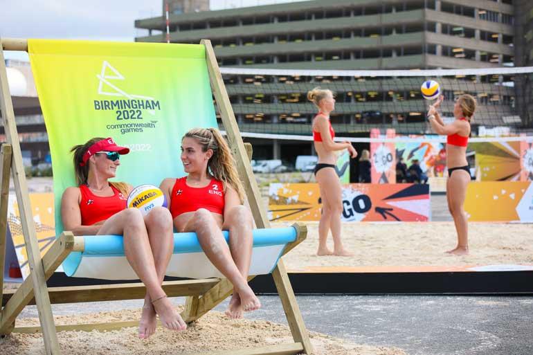 birmingham 2022 commonwealth games beach volleyball