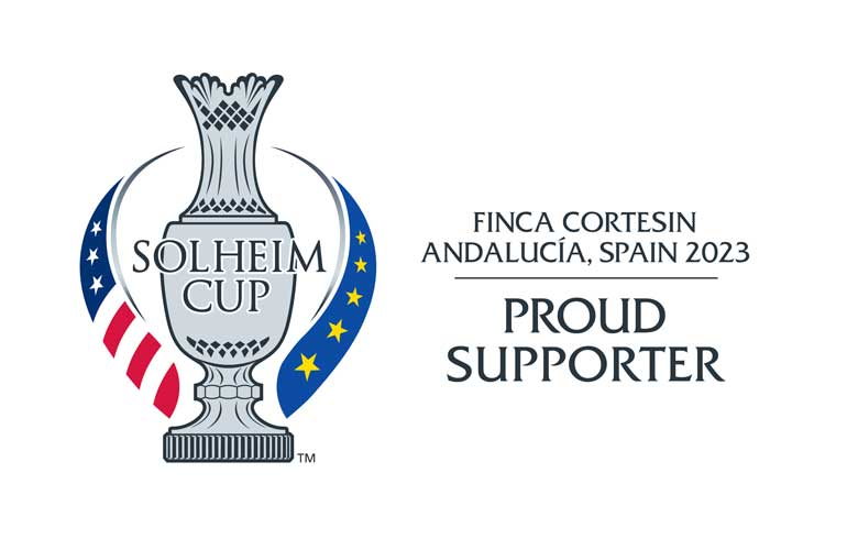 2023 solheim cup proud supporter logo