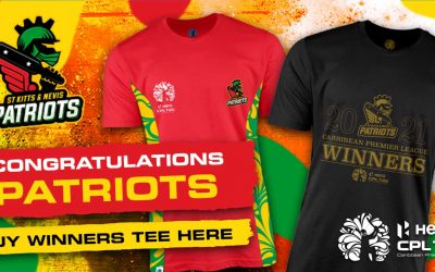Cube Creates CPL 2021 Official Winners T'Shirt